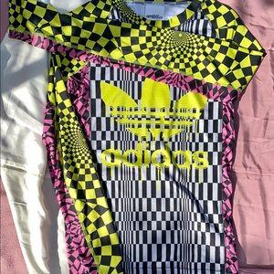 Jeremy Scott x Adidas acid trip top